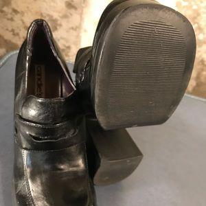 3ad4b04cc43 Candie s Shoes - Vintage 1990 s Candies Black Platform Loafer